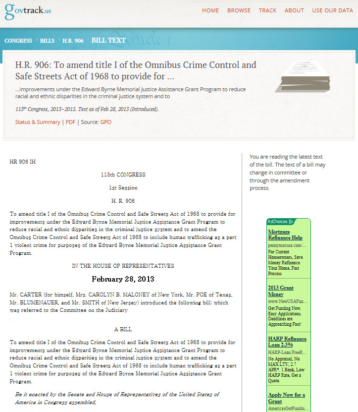 the safe streets act essay Second chance act of 2007 - research paper example the bill reformed the omnibus crime control and safe streets act of 1968 didn't find an essay.