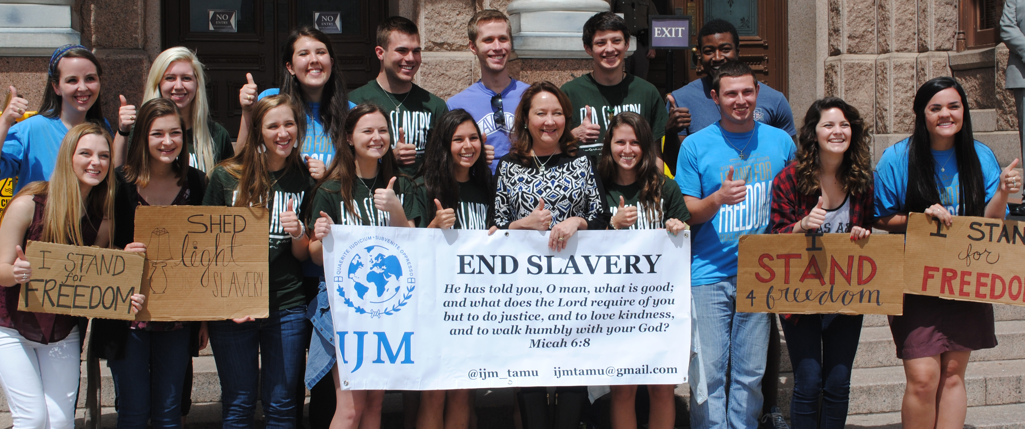 #EndSlaveryAct #Stand4Freedom in Texas