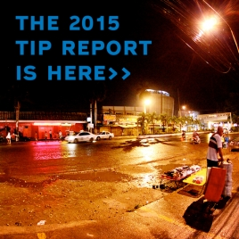 The 2015 Trafficking in Persons Report