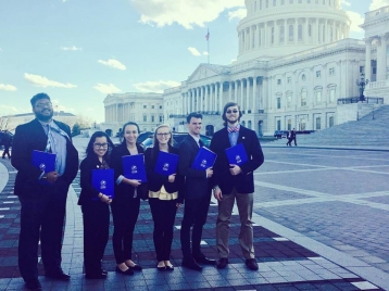 Lobby Day in support of full funding for the End Modern Slavery Initiative, by the IJM National Student Leadership Team.